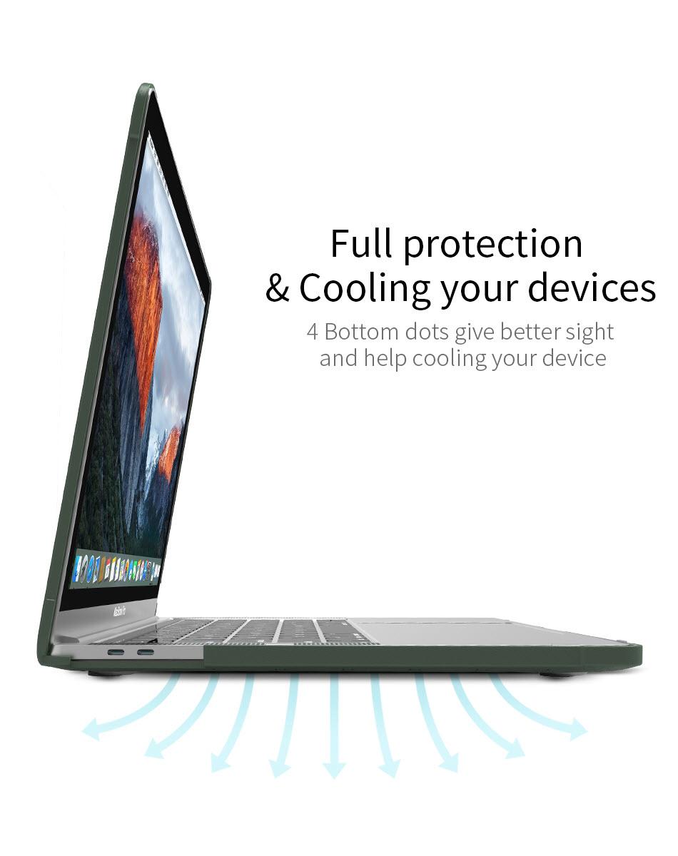 Wiwu Ishield Tpu Frame Pc Protect Case For Macbook (5)