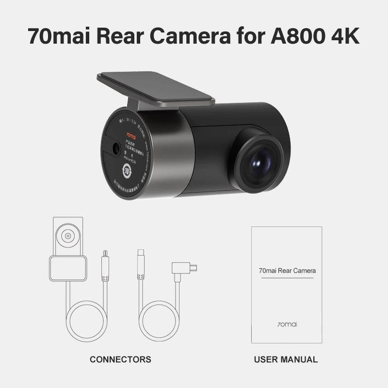 Xiaomi 70mai Rc06 Car Rear Camera 4k Ultra Hd Dual Vision Camera For A500s A800 A800s (1)