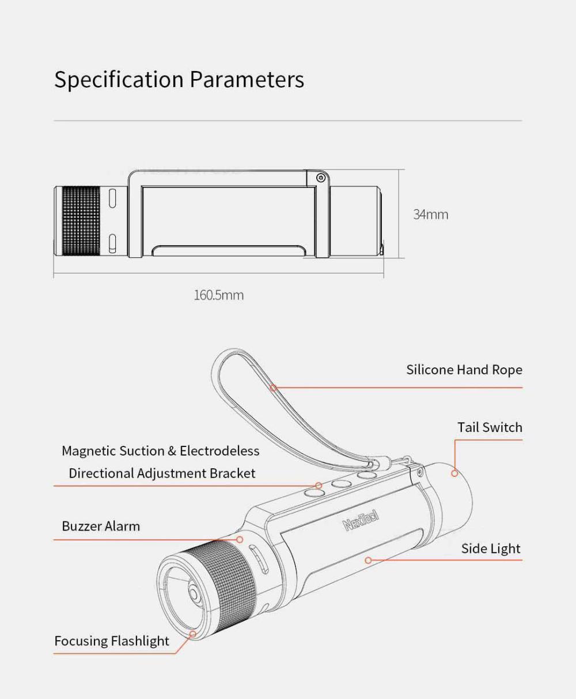 Xiaomi Nextool Outdoor 6 In 1 Thunder Flashlight (3)