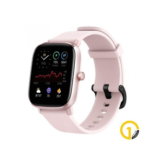 Amazfit Gts 2 Mini Smartwatch Pink Official 1 Year Warranty (1)