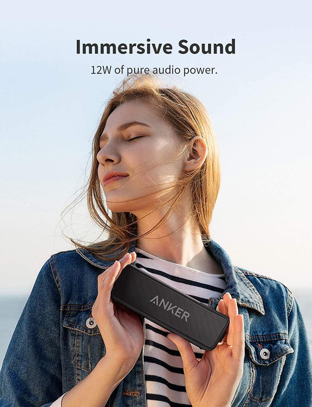 Anker Soundcore 2 Portable Bluetooth Speaker With 12w Stereo Sound (4)