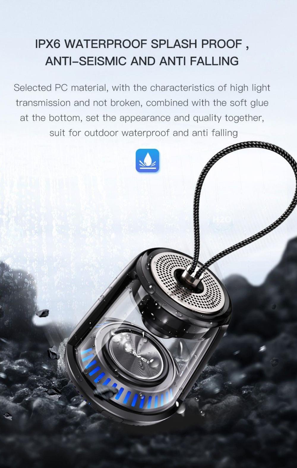 Awei Y666 5w Tws Portable Bluetooth Speaker (5)