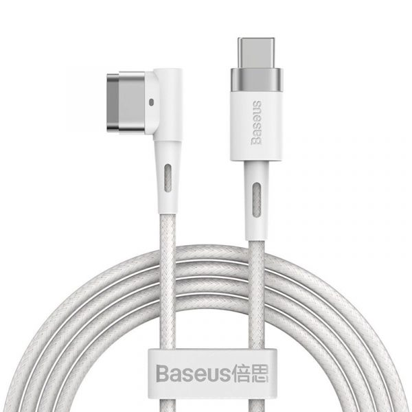 Baseus 60w Magnetic Type C To Lightning L Shaped Port For Macbook Air Macbook Pro (1)