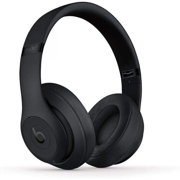 Beats Studio 3 Wireless Noise Cancelling Over Ear Headphones Black (1)