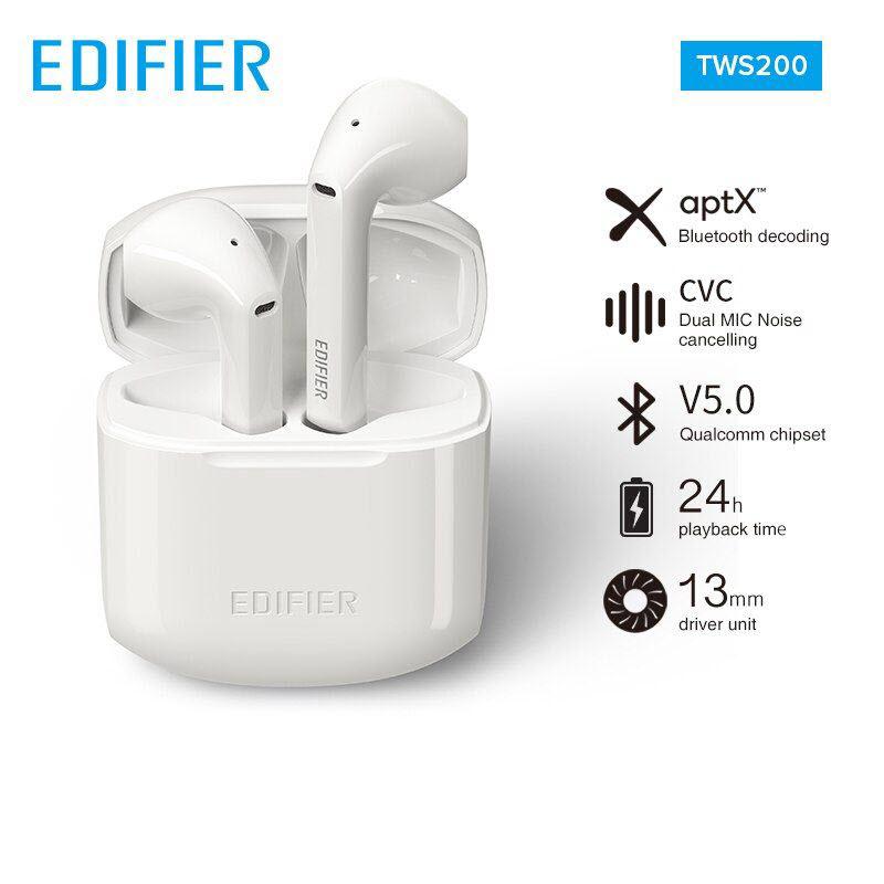 Edifier Tws 200 True Wireless Stereo Earbuds (2)
