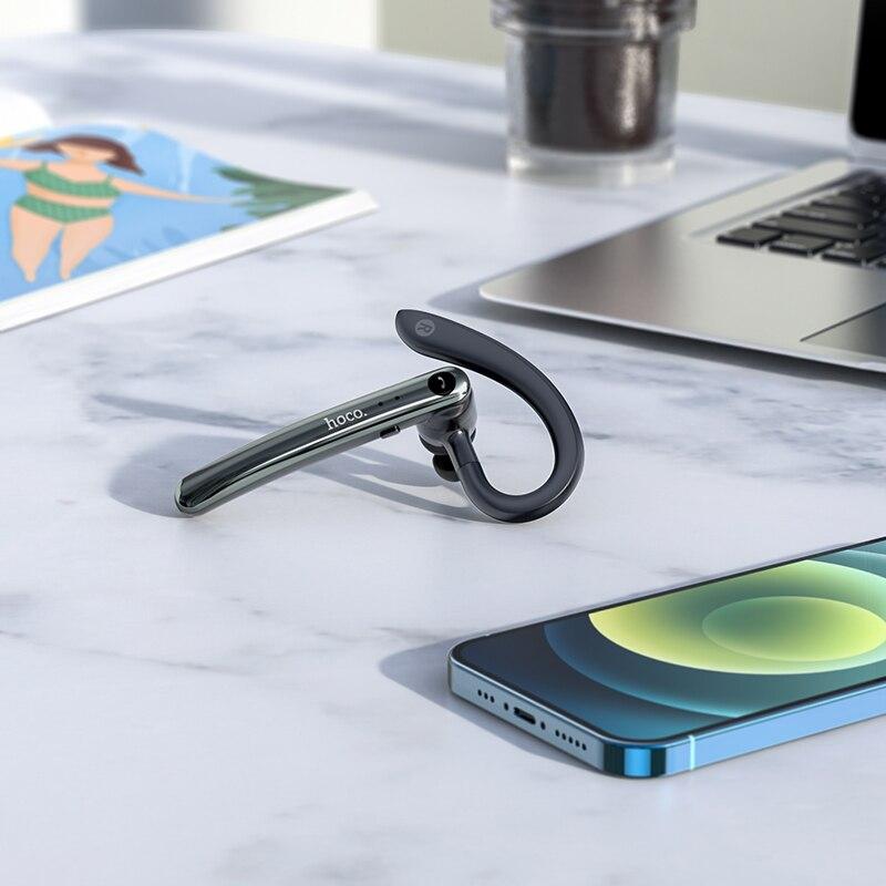 Hoco S19 Enc Noise Reduction Bluetooth Single Earphone (1)