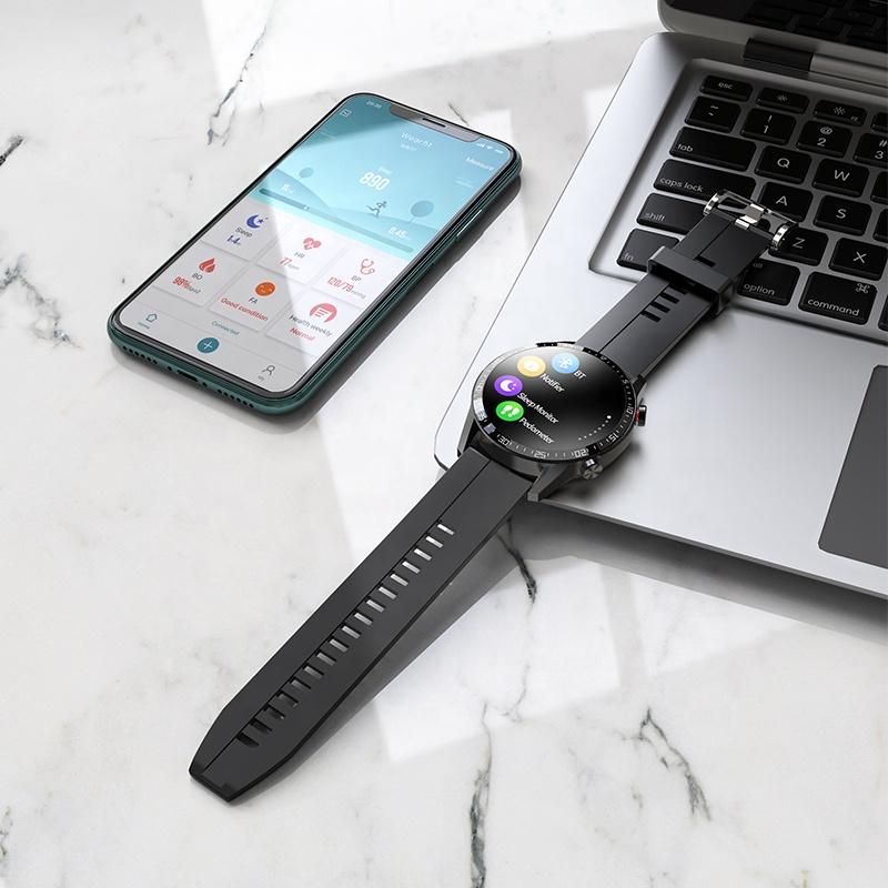 Hoco Y2 Ip68 Waterproof Sport Fitness Smart Watch (2)
