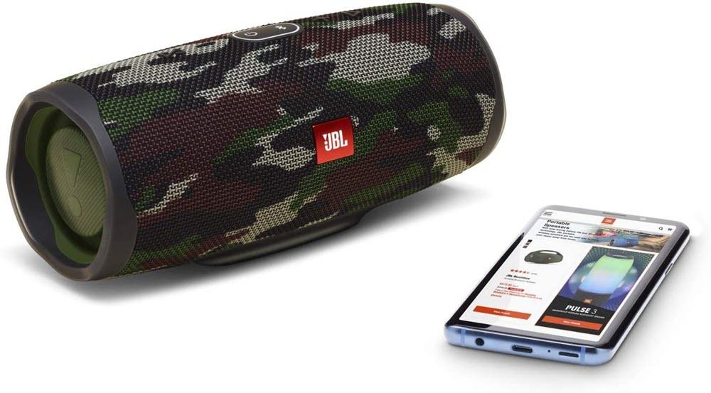 Jbl Charge 4 Waterproof Portable Bluetooth Speaker Squad Camo (2)