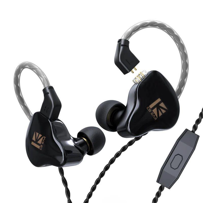 Kbear Ks1 Crystal Sound Stereo Earphones (1)