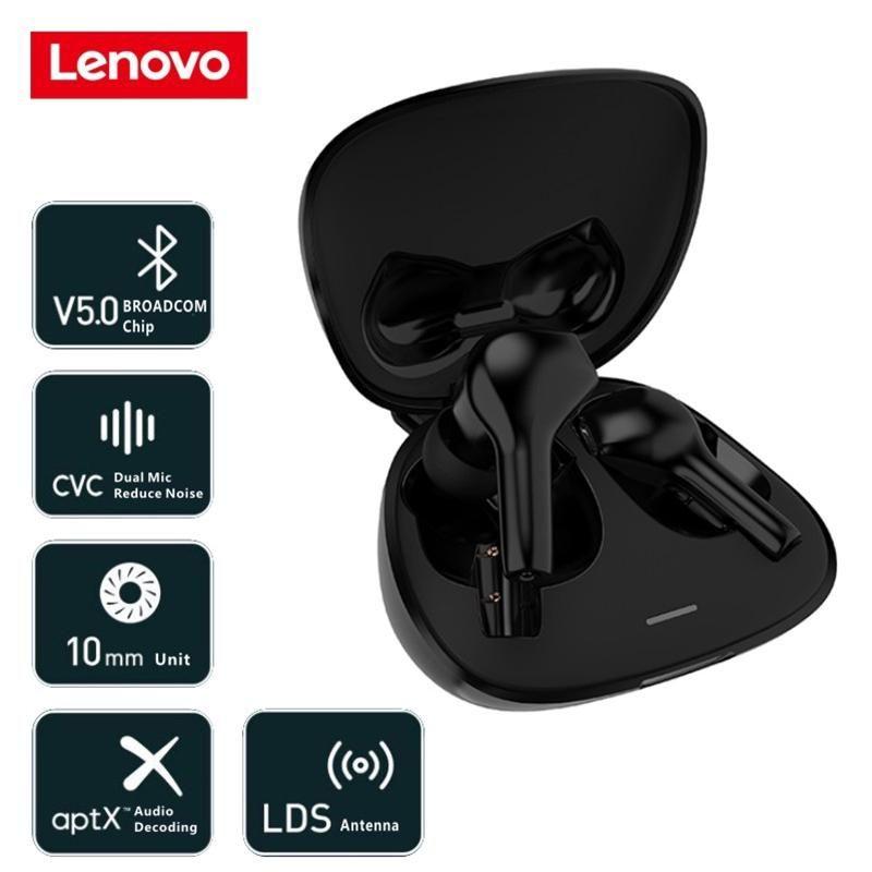 Lenovo Ht06 Tws Bluetooth 5 0 Waterproof Dual Mic Wireless Earbuds (4)