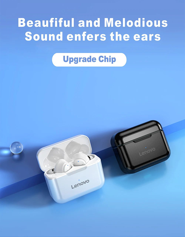 Lenovo Qt82 Wireless Bluetooth 5 0 Earbuds (3)