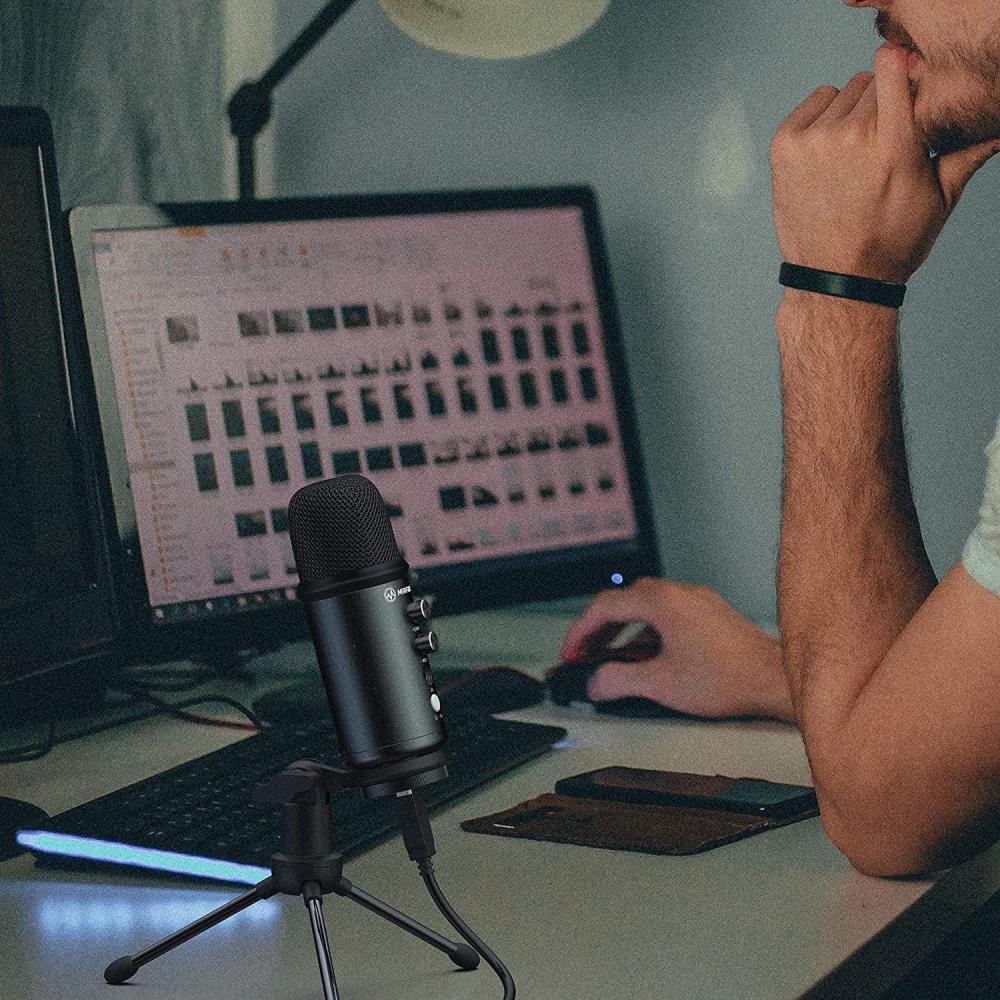 Moza Mirfak Tu1 Professional Kit Usb Condenser Microphone (4)