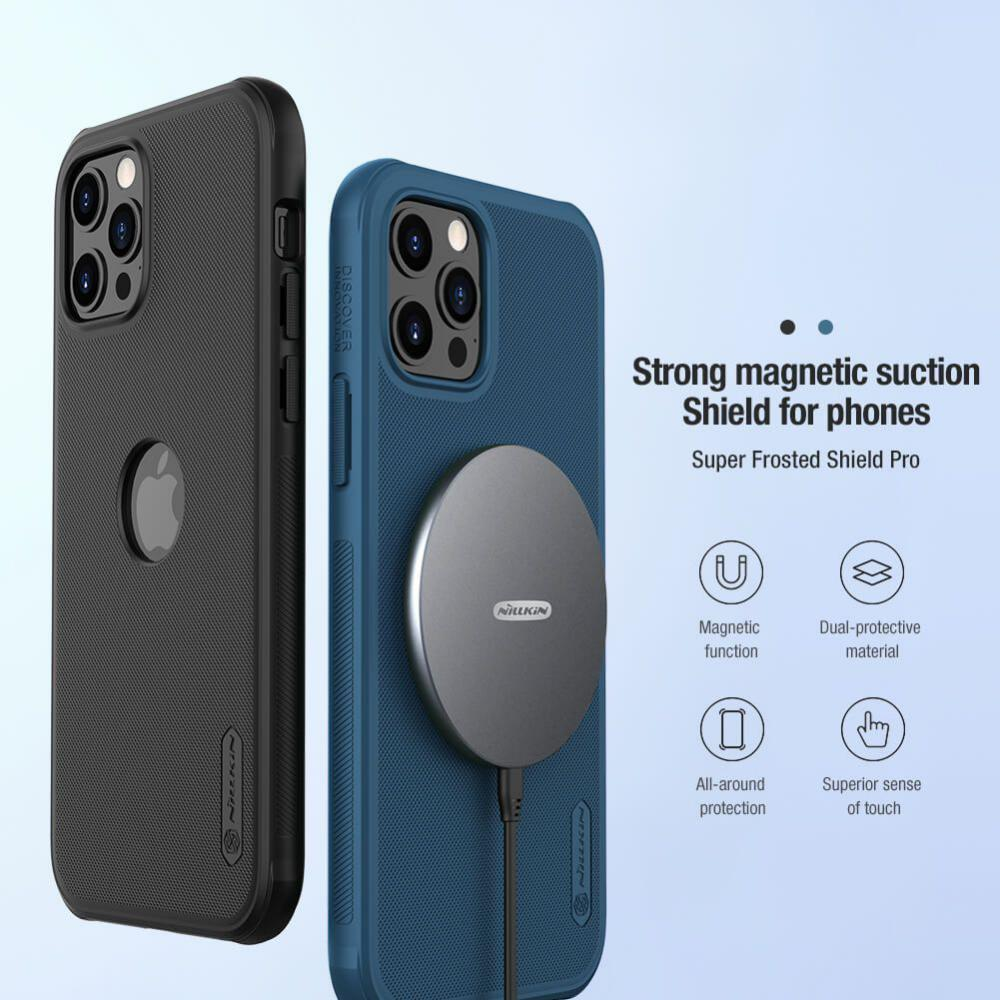 Nillkin Super Frosted Shield Pro Magnetic Case For Iphone 12 Iphone 12 Pro 12 Pro Max (2)