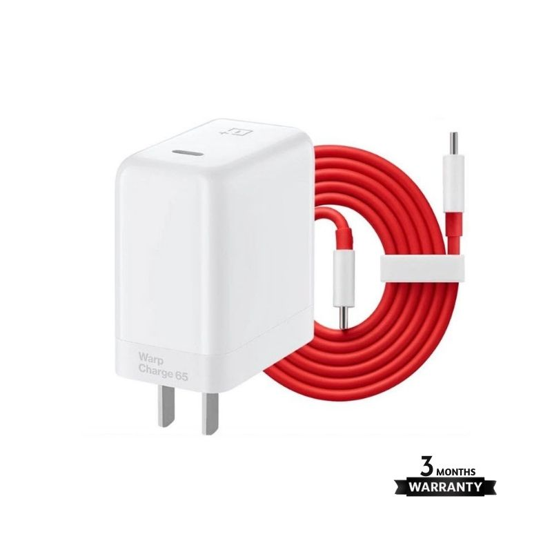 Oneplus 65w Warp Charge Adapter With Type C Cable (2)