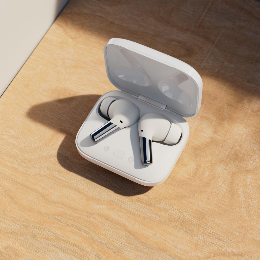 Oneplus Buds Pro True Wireless Earbuds Glossy White (1)