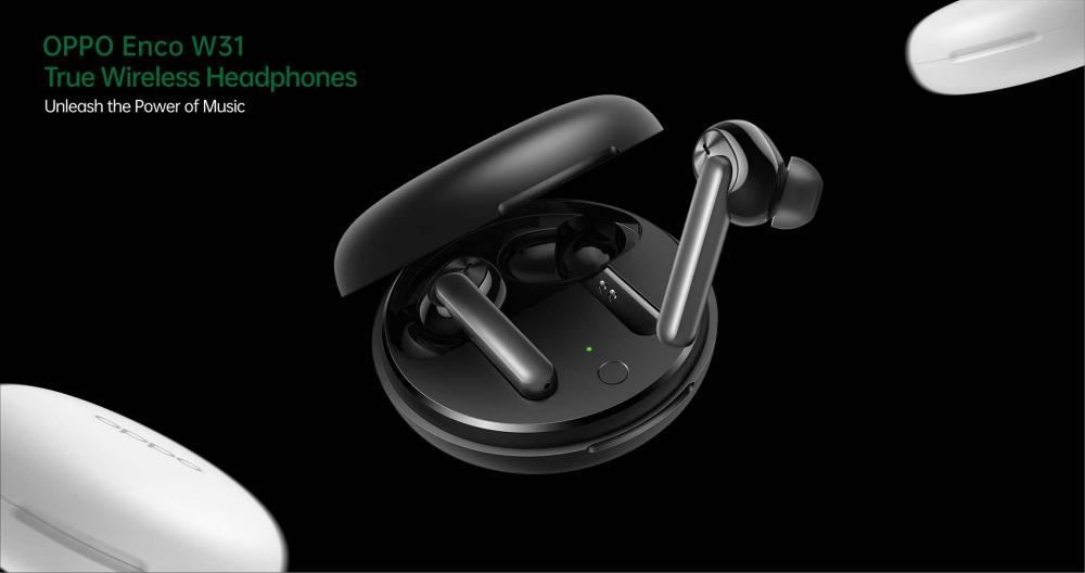 Oppo Enco W31 Bluetooth Wireless Earphones With Mic (2)