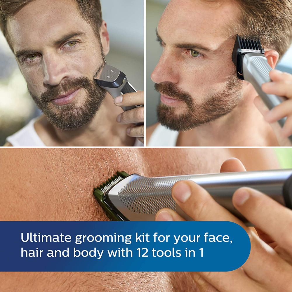 Philips Series 7000 12 In 1 Ultimate Grooming Kit For For Beard Hair Body (3)