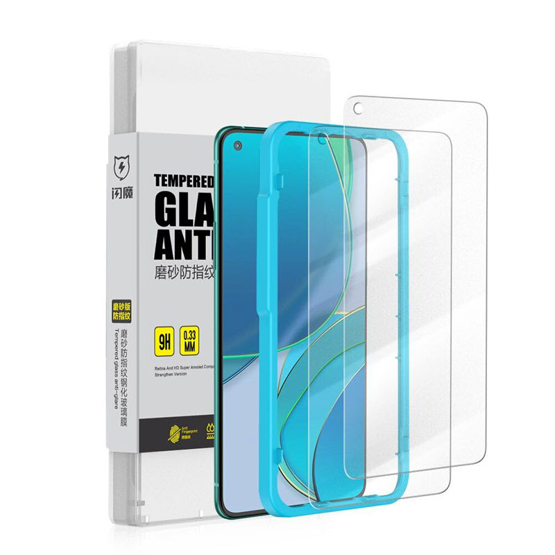 Smartdevil Amazing Anti Glare Matte Tempered Glass For Oneplus 8t 9 9r