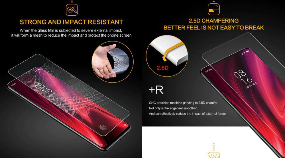 SmartDevil Amazing HD Transparent Tempered Glass (2pcs in a Pack)