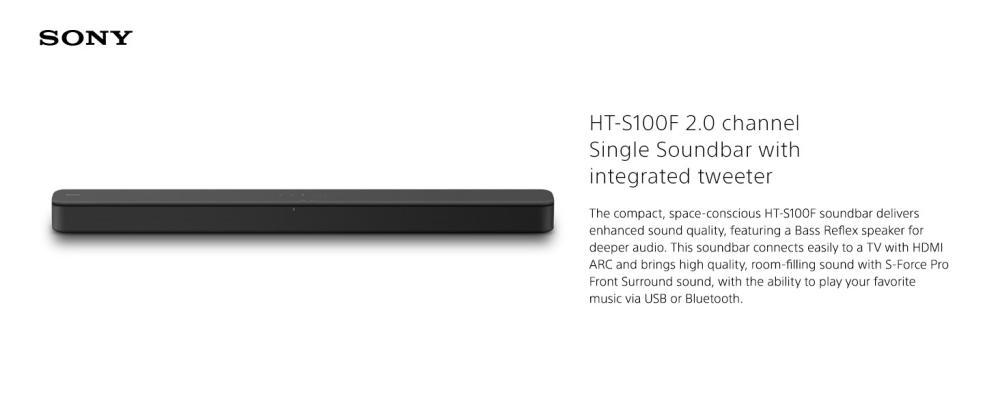 Sony S100f 2 0ch Soundbar Bass Reflex Speaker (3)