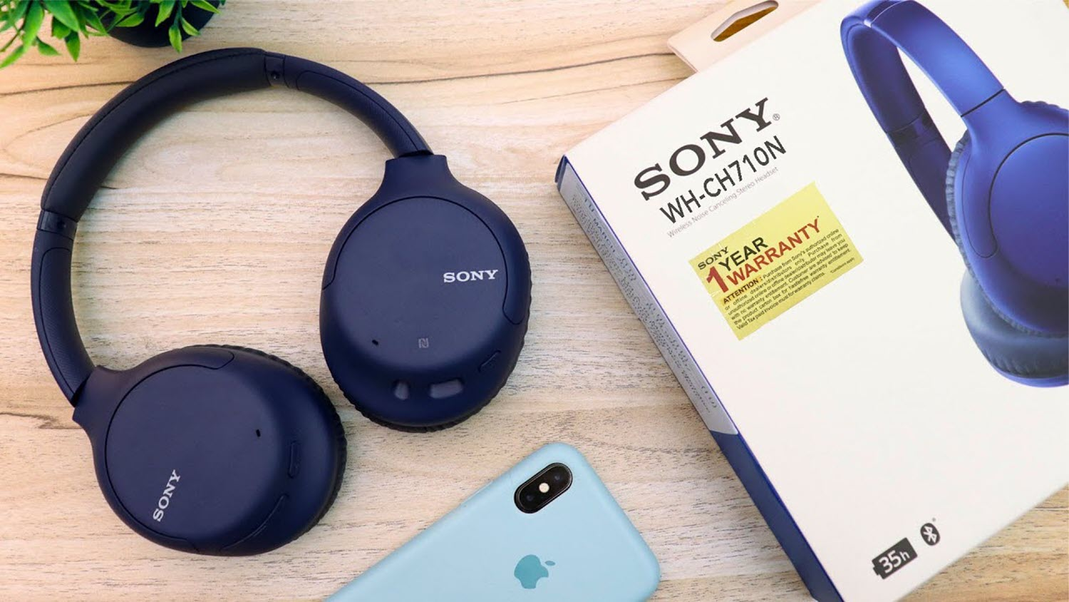 Sony Wh Ch710n Wireless Noise Cancelling Headphone Blue (2)