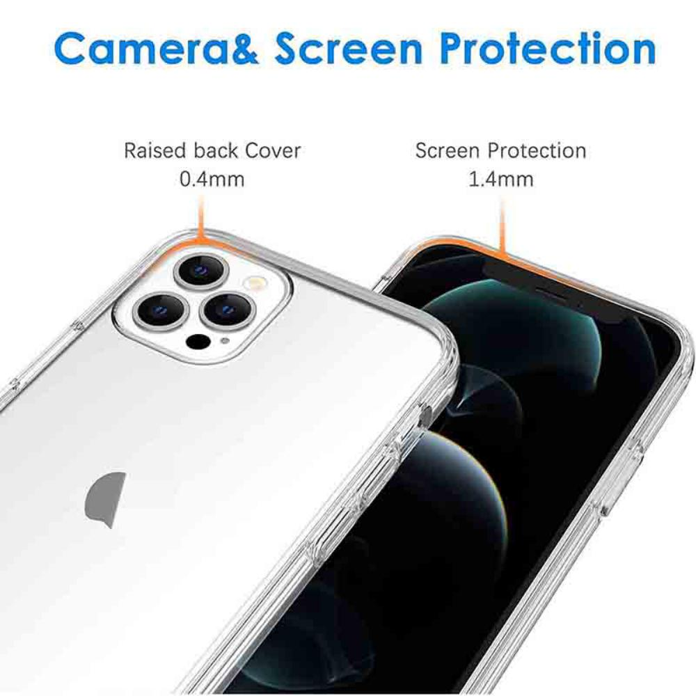 Tgvis Len Series Hard Clear Case For Iphone 12 Iphone 12 Pro 12 Pro Max (1)