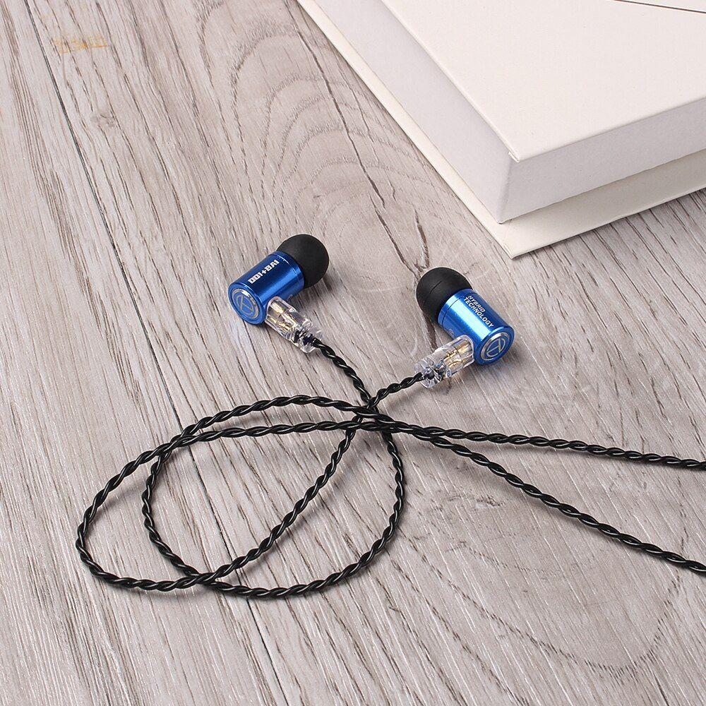 Trn M10 1ba1dd Metal Hybrid In Ear Monitor Earphone (4)