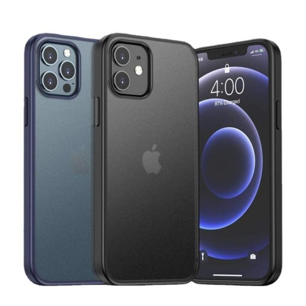 Viseaon Guard Pro Translucent Matte Premium Bumper Case For Iphone 12 12 Pro 12 Pro Max (1)