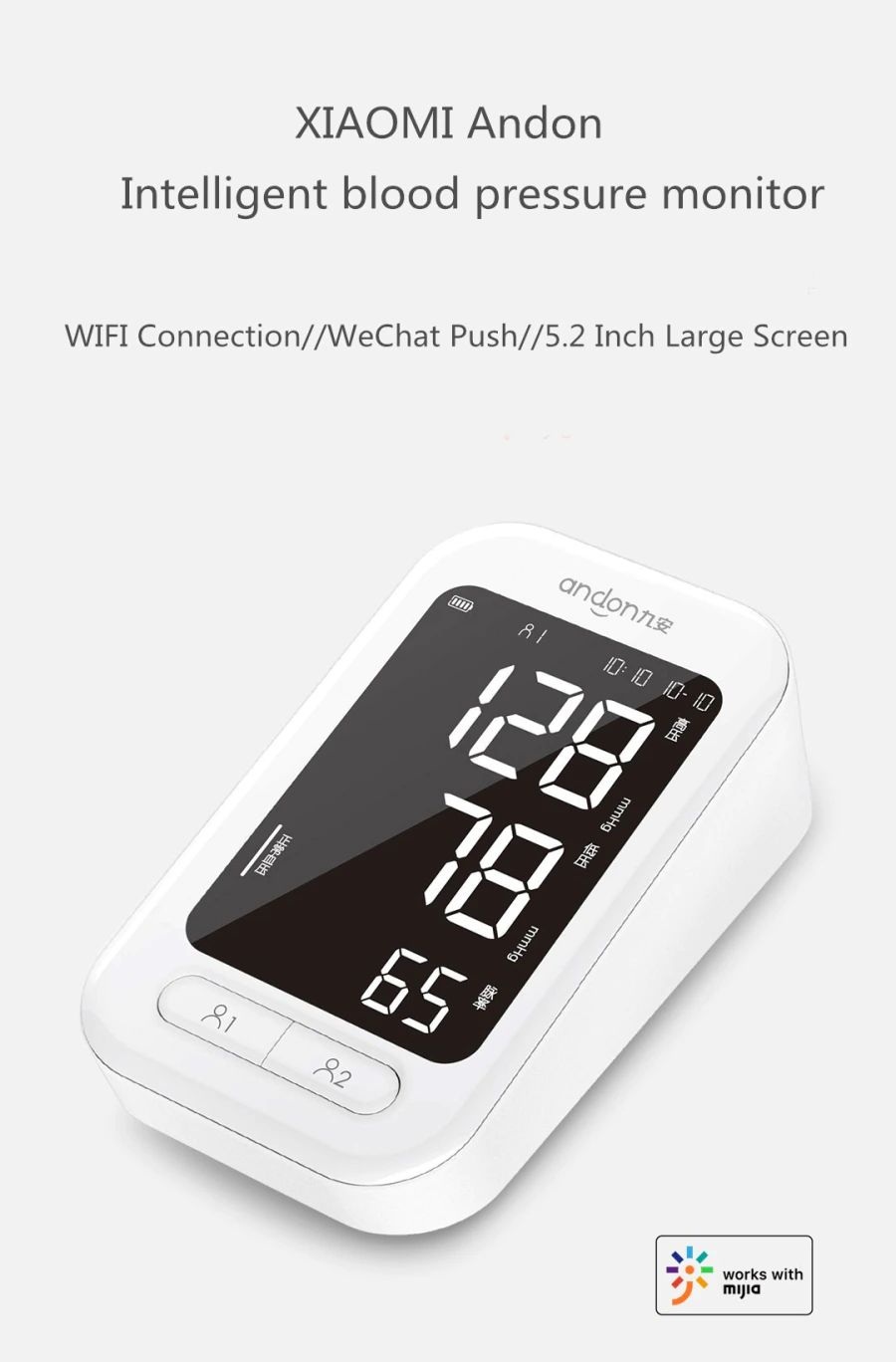 Xiaomi Andon Smart Blood Pressure Monitor (5)