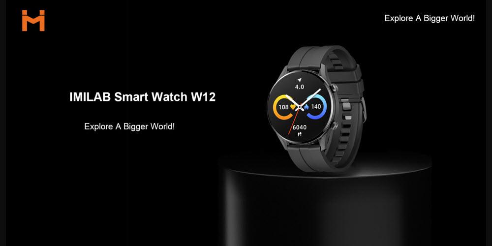 Xiaomi Imilab Smart Watch W12 (1)