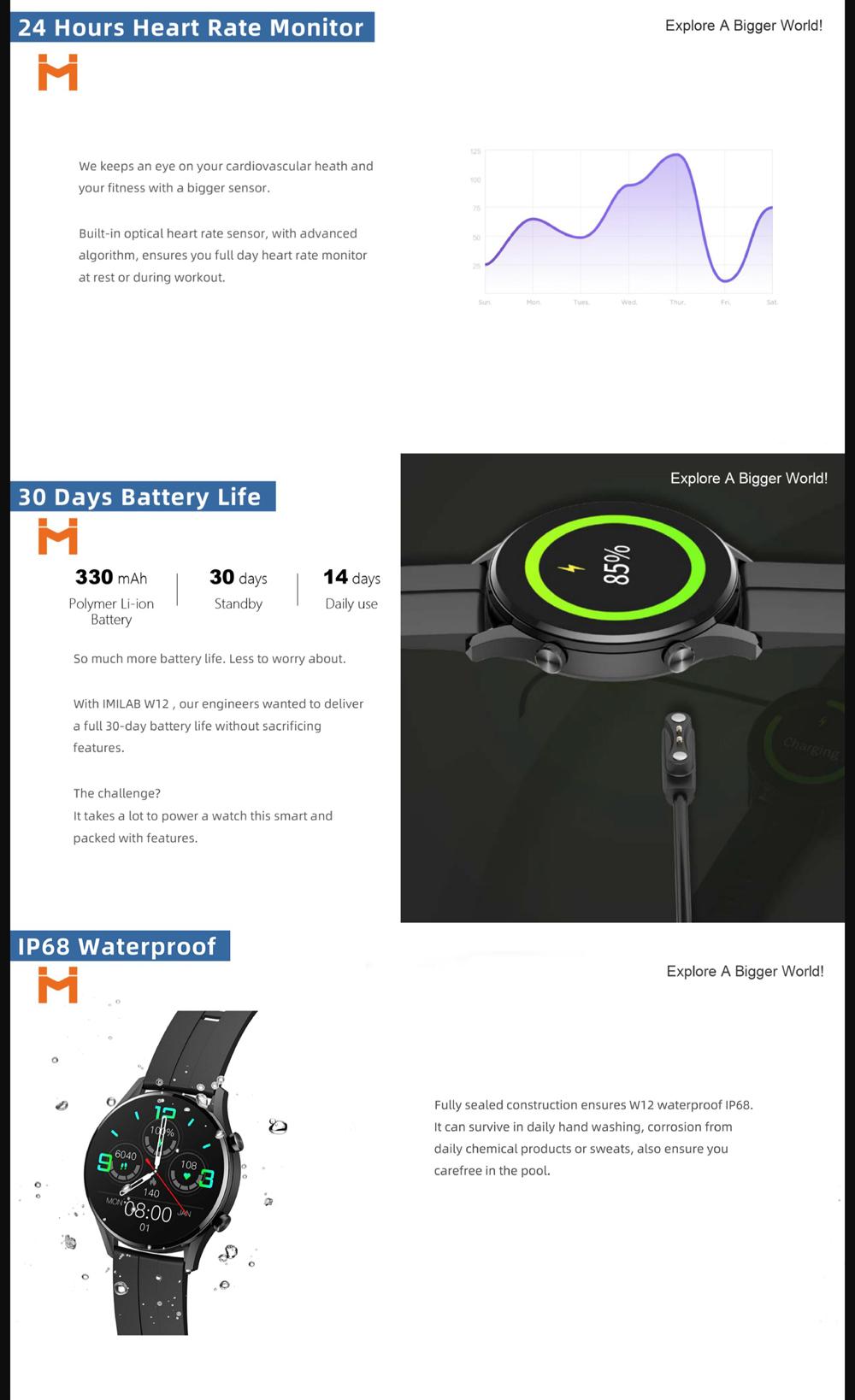 Xiaomi Imilab Smart Watch W12 (3)