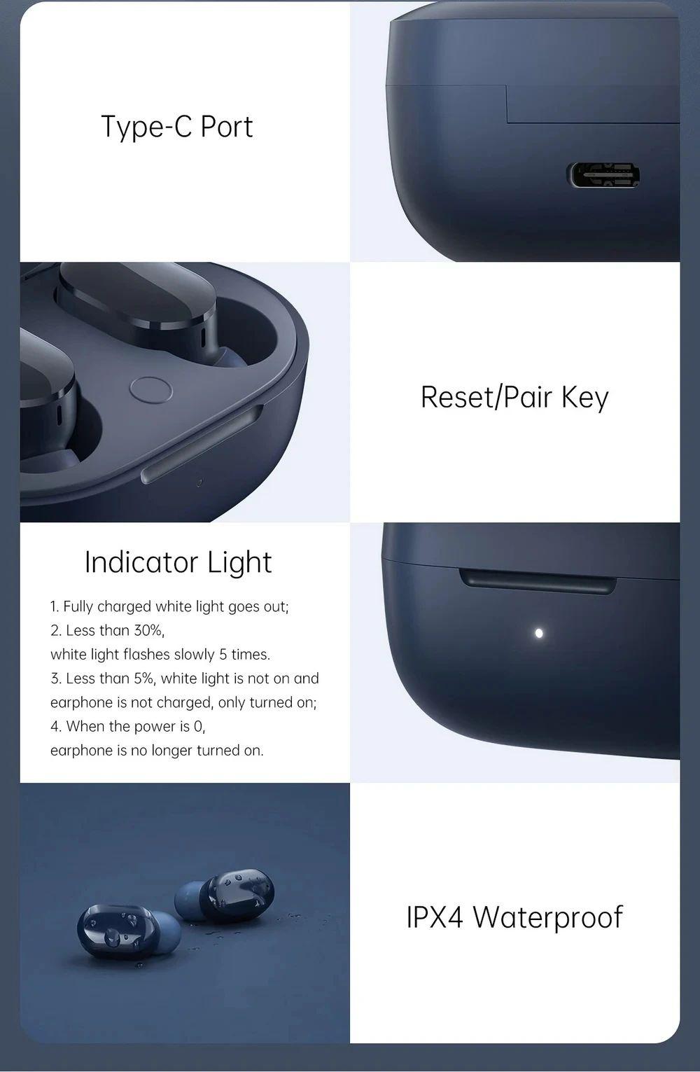 Xiaomi Redmi Airdots 3 Tws Earbuds (1)