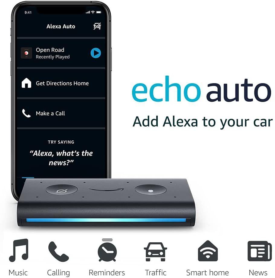 Amazon Echo Auto Smart Speaker With Alexa (2)