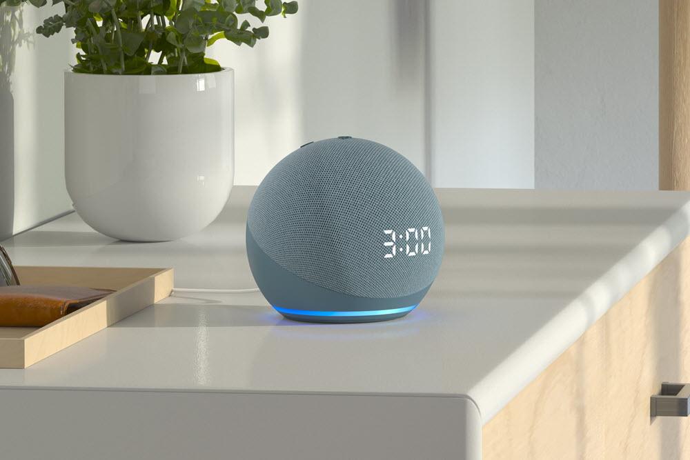 Amazon Echo Dot 4th Gen With Clock (2)