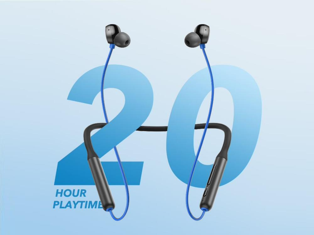 Anker Soundcore R500 Wireless Neckband Blue (2)