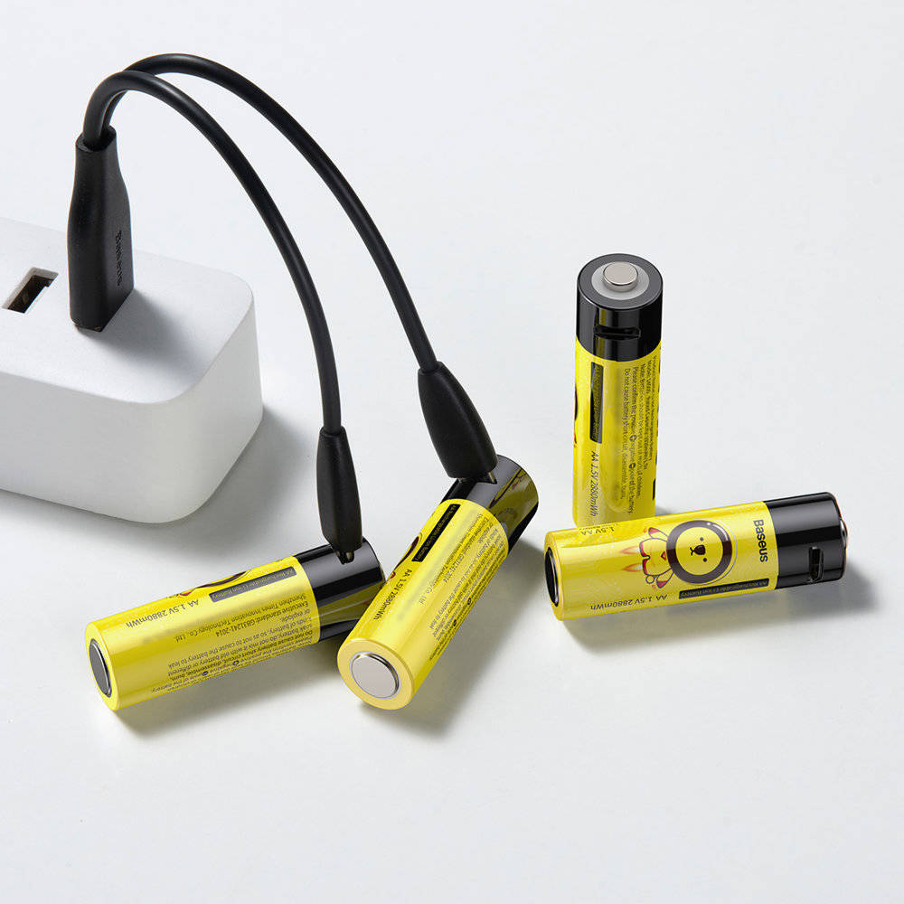 Baseus Aa Rechargeable Li Ion Battery 2pcs (2)