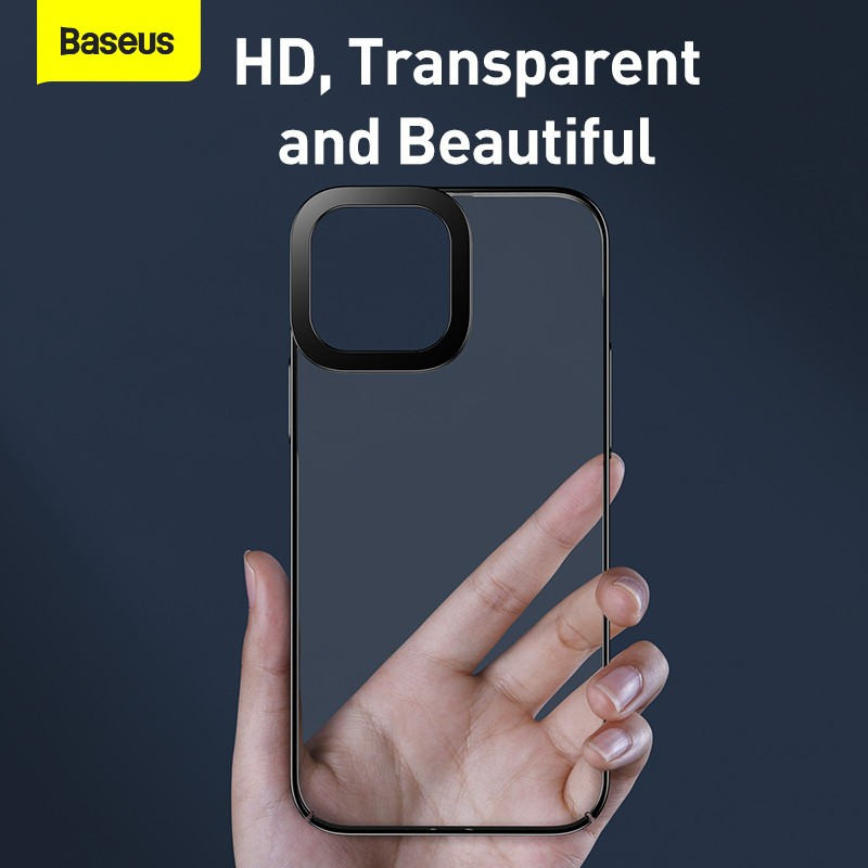Baseus Glitter Transparent Protective Case Cover For Apple Iphone 13 Series (10)