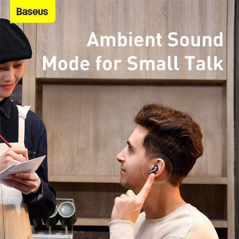 Baseus Simu S2 Anc True Wireless Earphones (1)