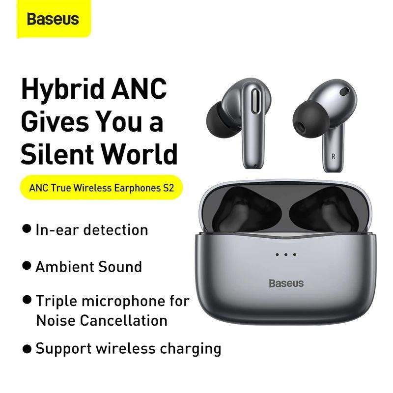 Baseus Simu S2 Anc True Wireless Earphones (5)