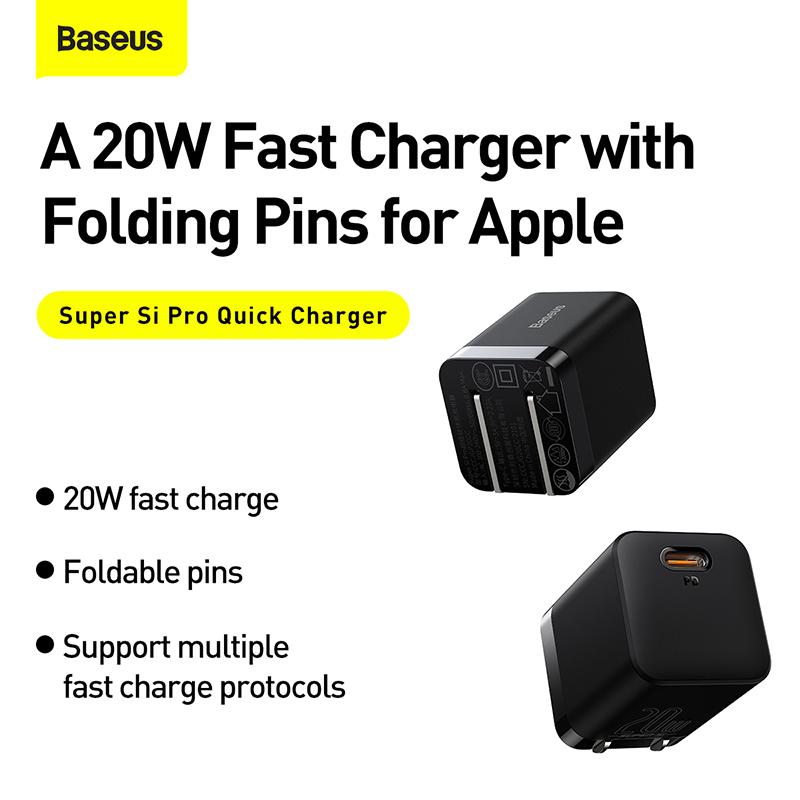 Baseus Super Si Pro 1c 20w Quick Charger (3)
