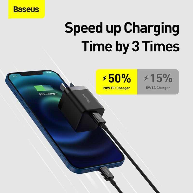 Baseus Super Si Pro 1c 20w Quick Charger (4)
