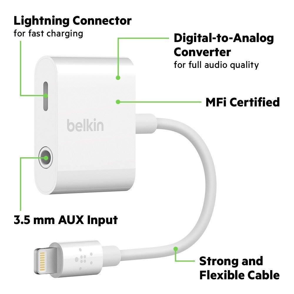 Belkin 3 5 Mm Audio Charge Rockstar Converter (1)
