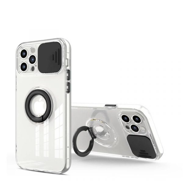 Camera Protection Ring Holder Phone Case For Iphone (1)