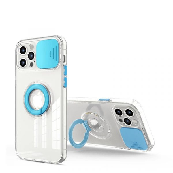 Camera Protection Ring Holder Phone Case For Iphone (9)