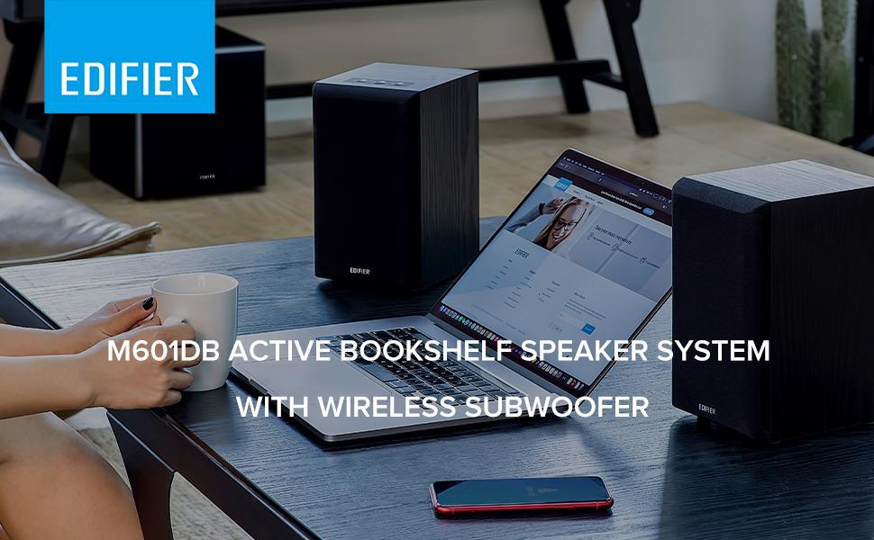 Edifier M601db Computer Wireless Subwoofer Speaker System (3)