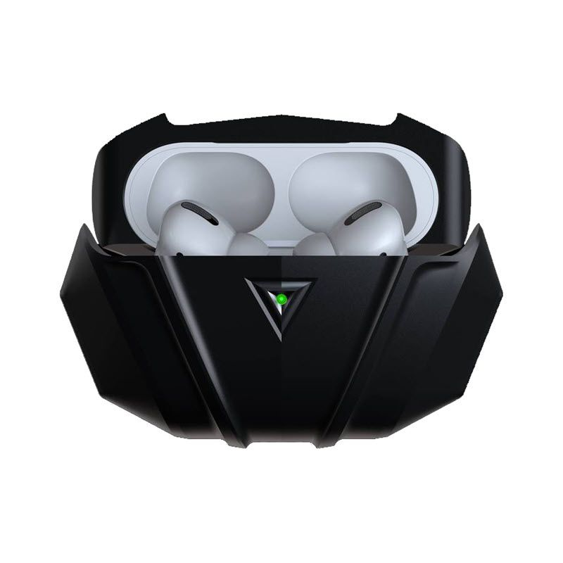 Gray Raptor Stealth Aluminum Airpods Pro Case (1)