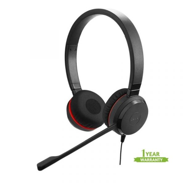 Jabra Evolve 30 Duo Usb 3 5mm With Quality Microphone