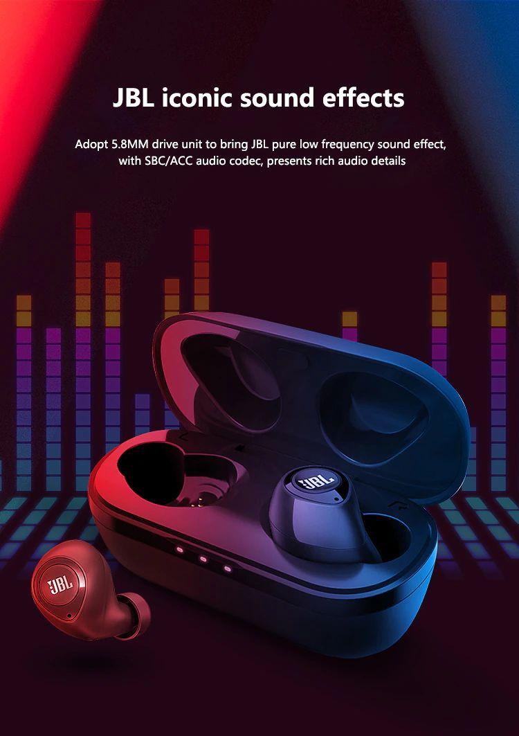 Jbl C100 Tws Wireless Bluetooth Earphones (2)