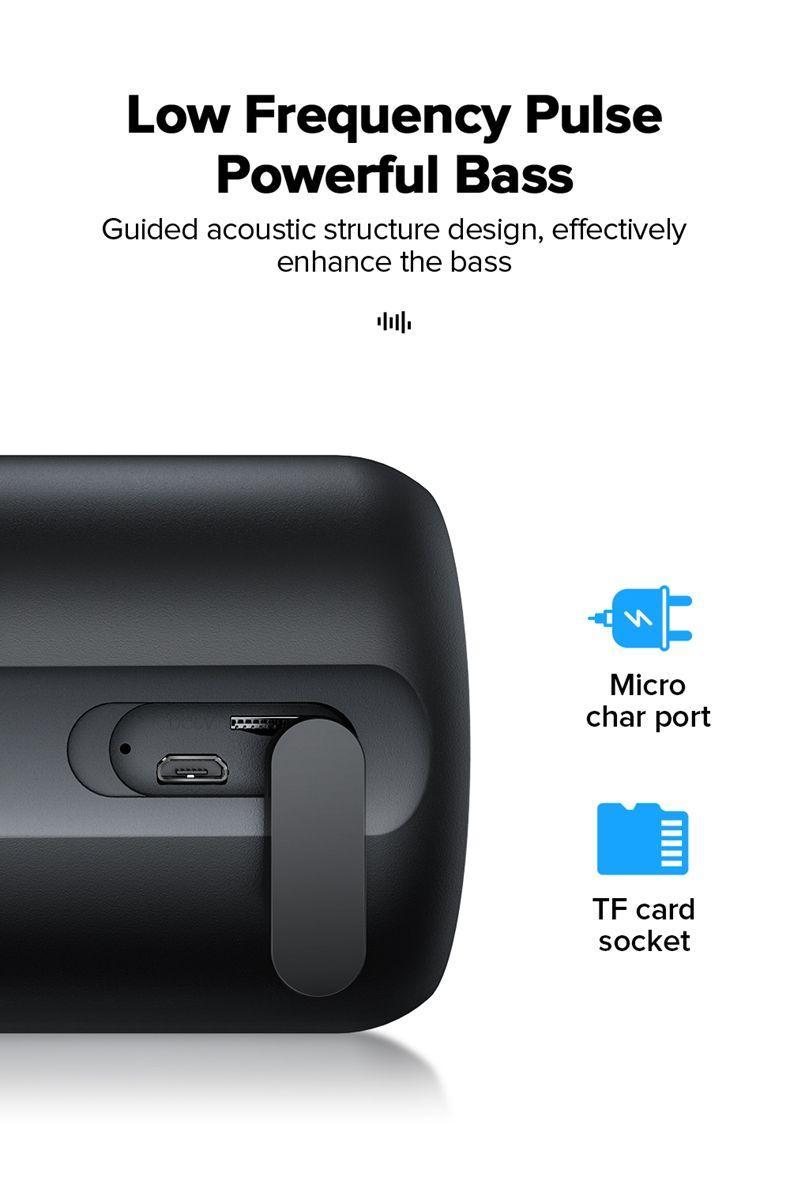 Joyroom Jr Ml02 Ipx7 Waterproof Bluetooth Speaker Wireless (5)
