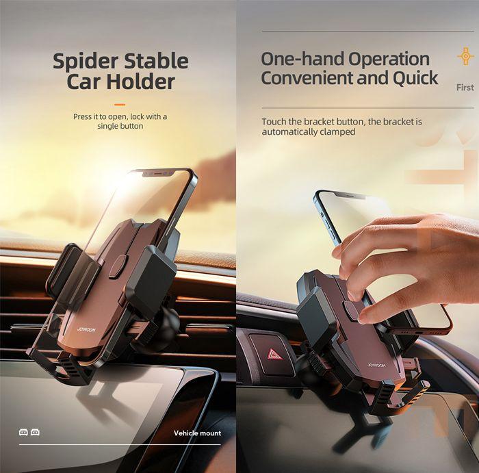 Joyroom Jr Zs255 Spider Stable Car Holder Dashboard (1) 1